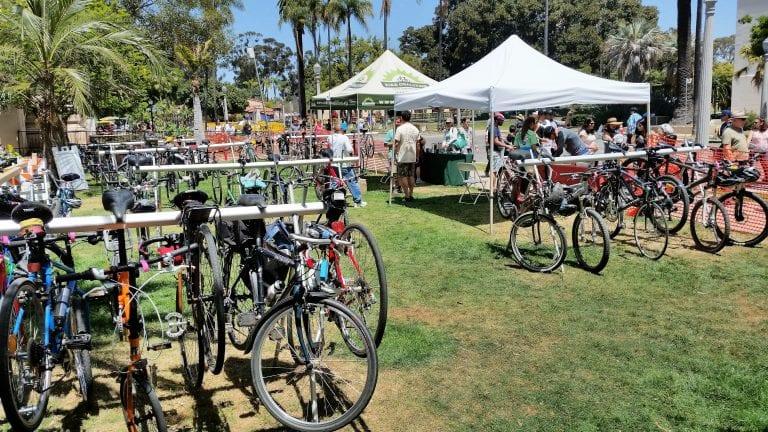 Bike Valet @ Earth Day Fair Balboa Park