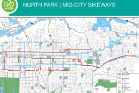Sandagy North Park - Mid-City Map